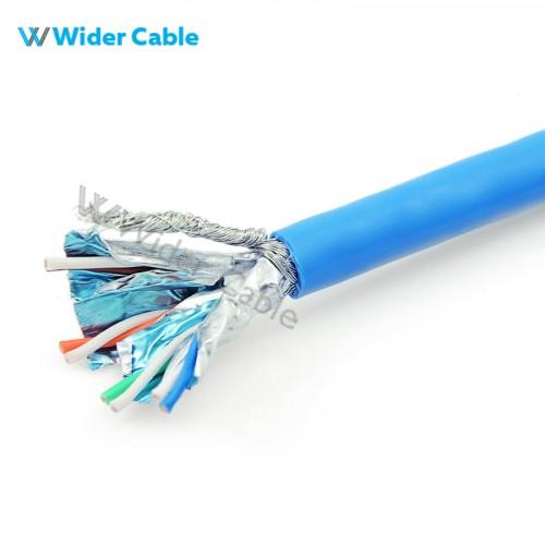 CAT6a SSTP Ethernet Network Bulk Cable Blue Color