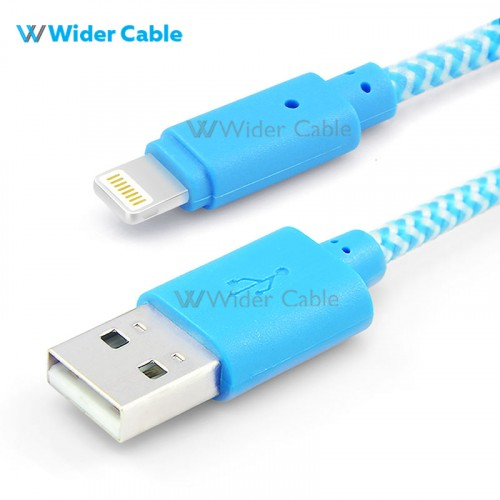 Lighting Charge and Sync Cable Blue Color