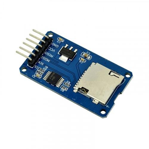 Slot Module for MicroSD Card