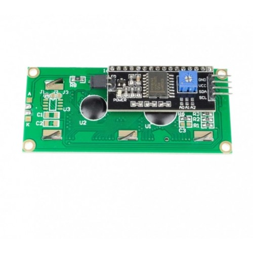 I2C LCD Module with Blue Backlight