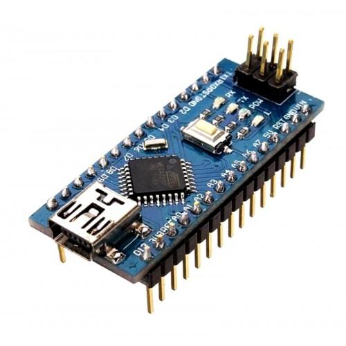 Board Compatible with Arduino Nano (ATmega328p + CH340) + Cable