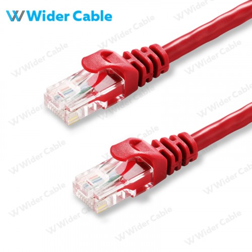 CAT6 UTP Patch Cable Red Color