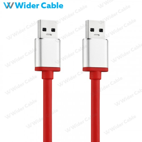 USB 3.0 A Male To A Male Cable Red Color