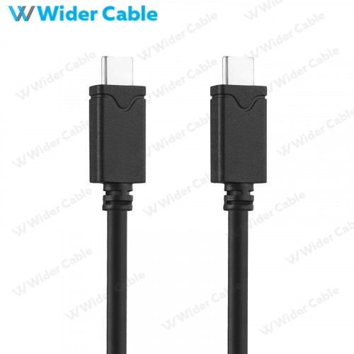 Gen 2 USB 3.1 USB Type C Standard Cable With E-Maker Chip Black Color